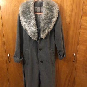 Vintage Long Pea Coat